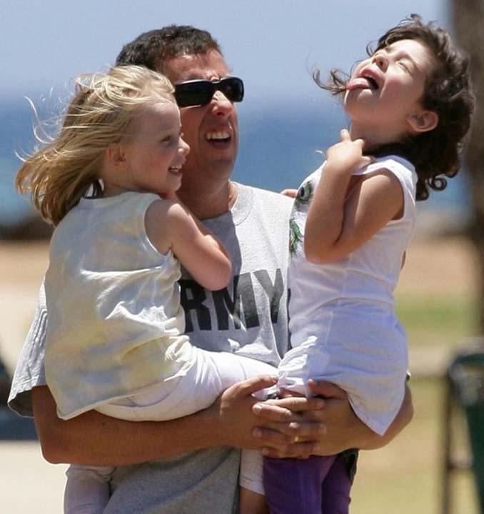 Διάσημοι ηθοποιοί φωτογραφίζονται με τις κόρες τους (8)