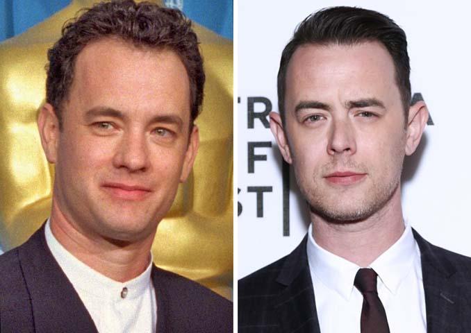 Διάσημοι μπαμπάδες και γιοι που σε συγκεκριμένη ηλικία μοιάζουν με δίδυμοι (5)
