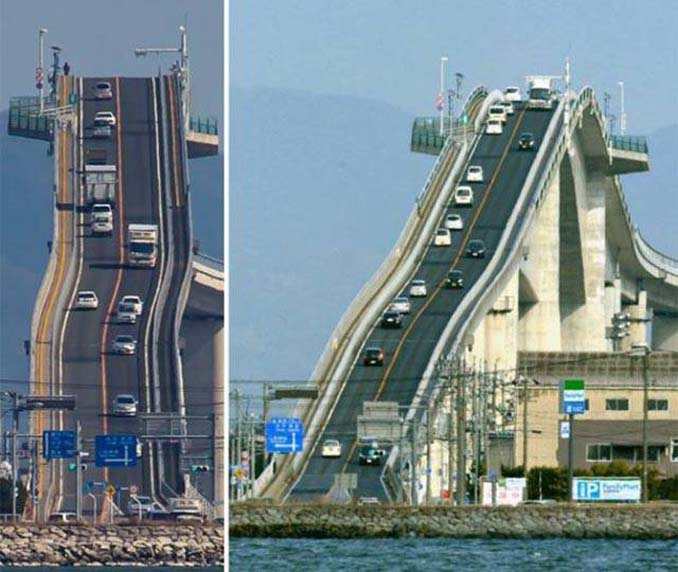 Γέφυρα στην Ιαπωνία μοιάζει τρομακτική (1)