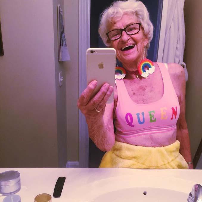 Η γιαγιά που έχει τρελάνει το Internet ξαναχτυπά (4)