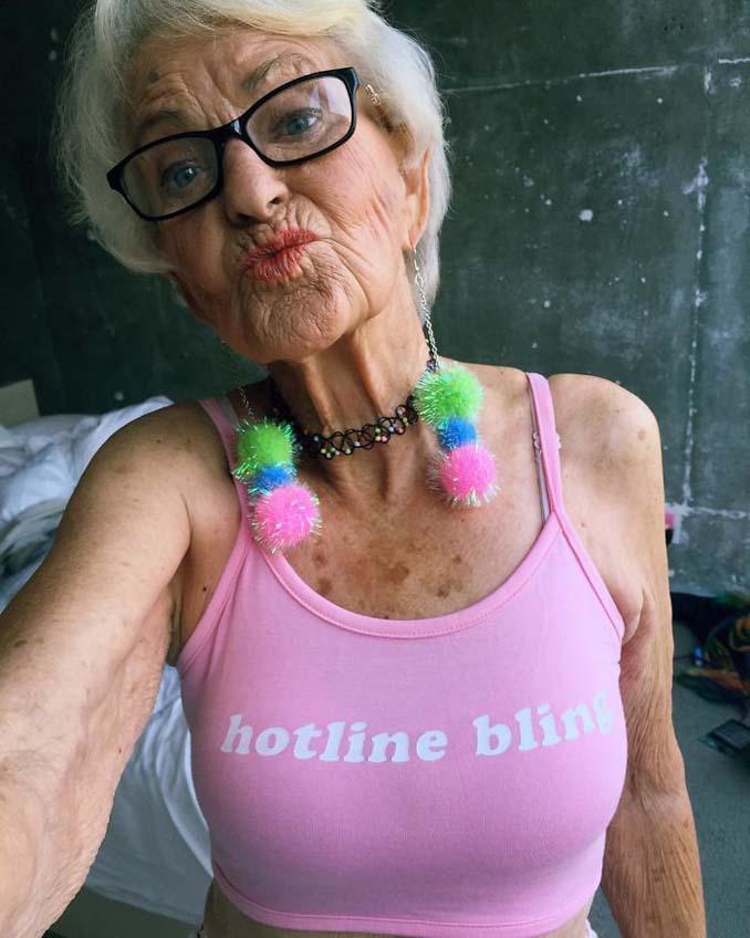 Η γιαγιά που έχει τρελάνει το Internet ξαναχτυπά (5)