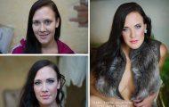 Γυναίκες με / χωρίς μακιγιάζ #21 (1)