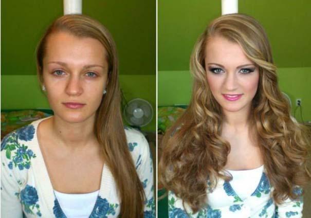 Γυναίκες με / χωρίς μακιγιάζ #21 (2)