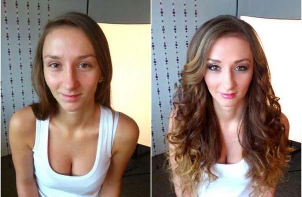 Γυναίκες με / χωρίς μακιγιάζ #21 (3)