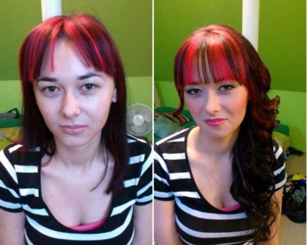 Γυναίκες με / χωρίς μακιγιάζ #21 (5)