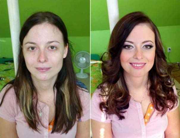 Γυναίκες με / χωρίς μακιγιάζ #21 (6)