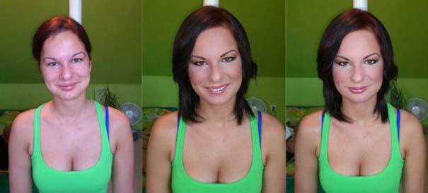 Γυναίκες με / χωρίς μακιγιάζ #21 (8)