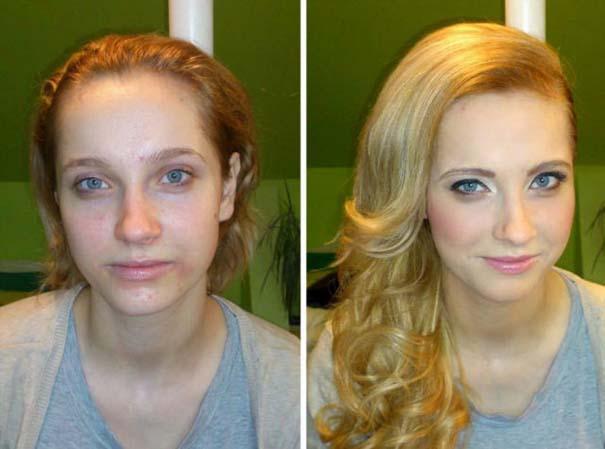 Γυναίκες με / χωρίς μακιγιάζ #21 (10)