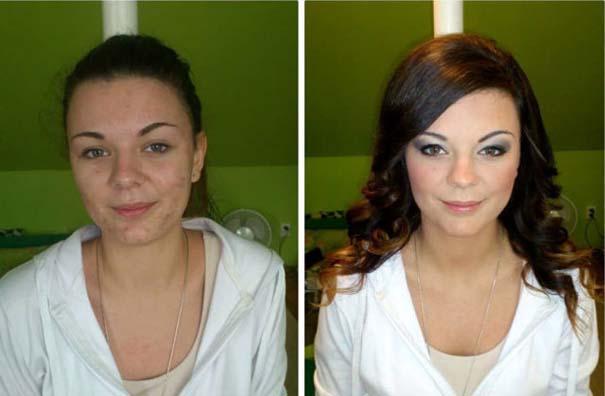 Γυναίκες με / χωρίς μακιγιάζ #21 (11)