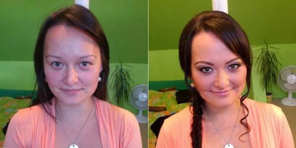 Γυναίκες με / χωρίς μακιγιάζ #22 (1)