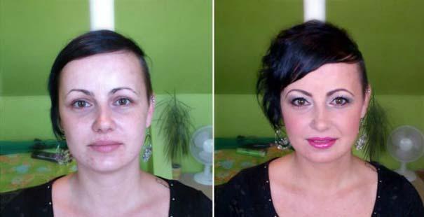 Γυναίκες με / χωρίς μακιγιάζ #22 (7)