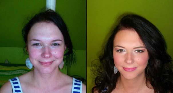 Γυναίκες με / χωρίς μακιγιάζ #22 (10)