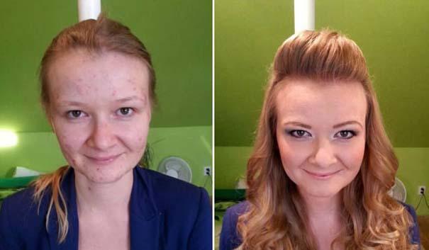 Γυναίκες με / χωρίς μακιγιάζ #22 (11)
