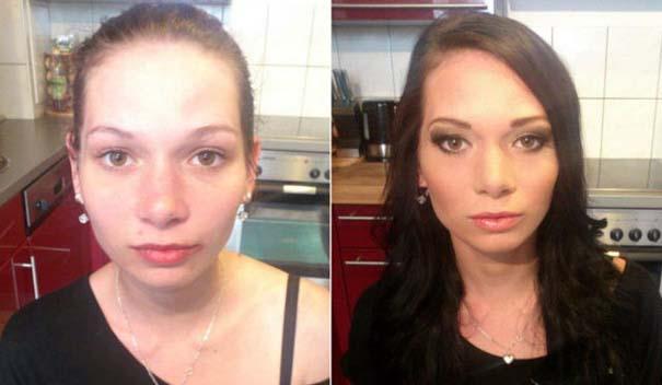 Γυναίκες με / χωρίς μακιγιάζ #22 (12)