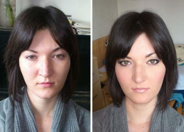 Γυναίκες με / χωρίς μακιγιάζ #22 (13)