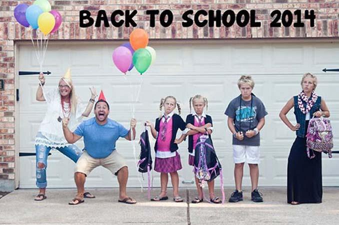 Ξεκαρδιστικές αντιδράσεις γονιών για την πρώτη μέρα των παιδιών τους στο σχολείο (20)