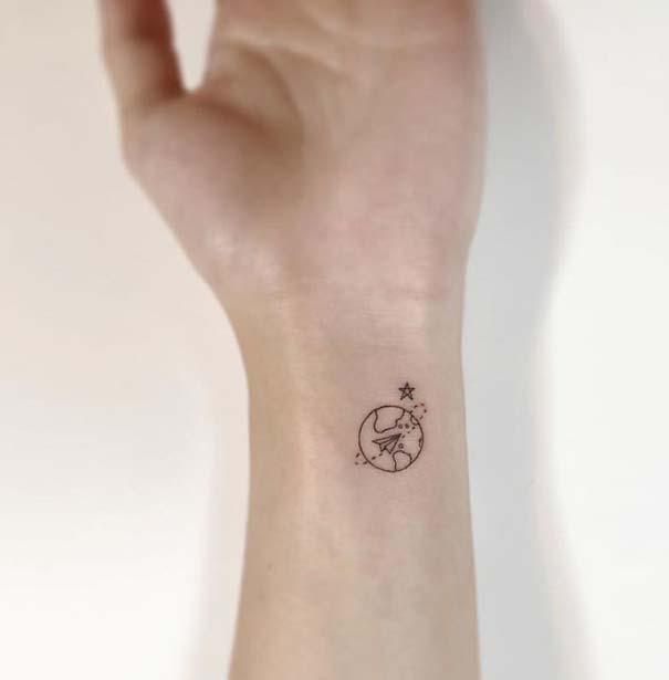 Μικροσκοπικά τατουάζ που θα μπορούσαν να περάσουν απαρατήρητα (2)