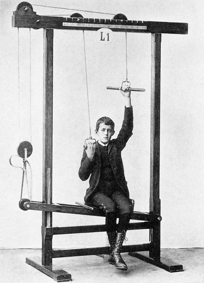 Τα περίεργα μηχανήματα των πρώτων γυμναστηρίων (10)