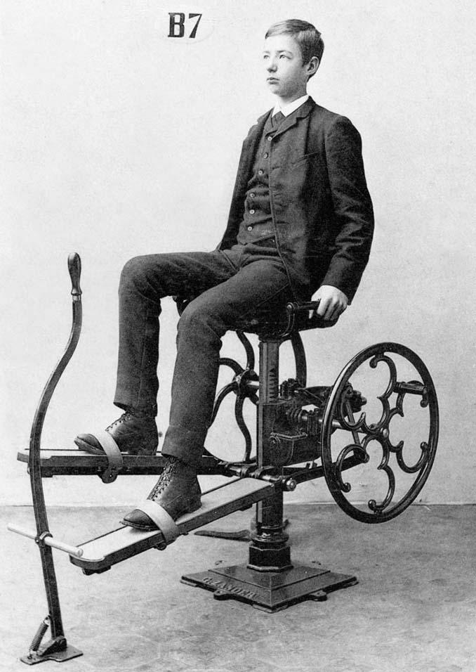 Τα περίεργα μηχανήματα των πρώτων γυμναστηρίων (11)