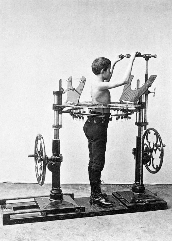 Τα περίεργα μηχανήματα των πρώτων γυμναστηρίων (18)