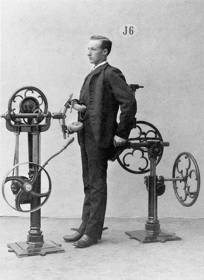 Τα περίεργα μηχανήματα των πρώτων γυμναστηρίων (19)