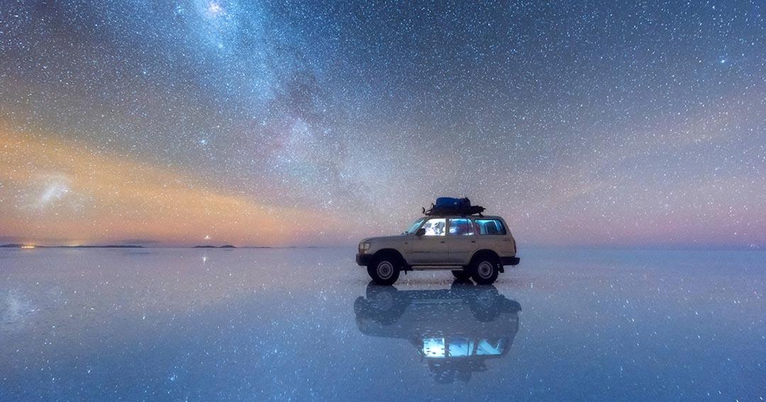 Ένα αυτοκίνητο... ανάμεσα στ' αστέρια! | Φωτογραφία της ημέρας