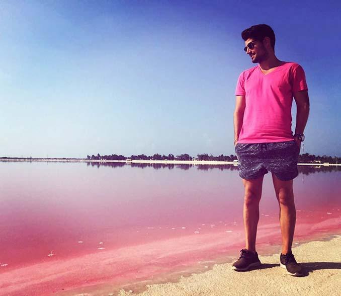 Η ροζ λιμνοθάλασσα του Μεξικού μοιάζει βγαλμένη από άλλο πλανήτη (9)