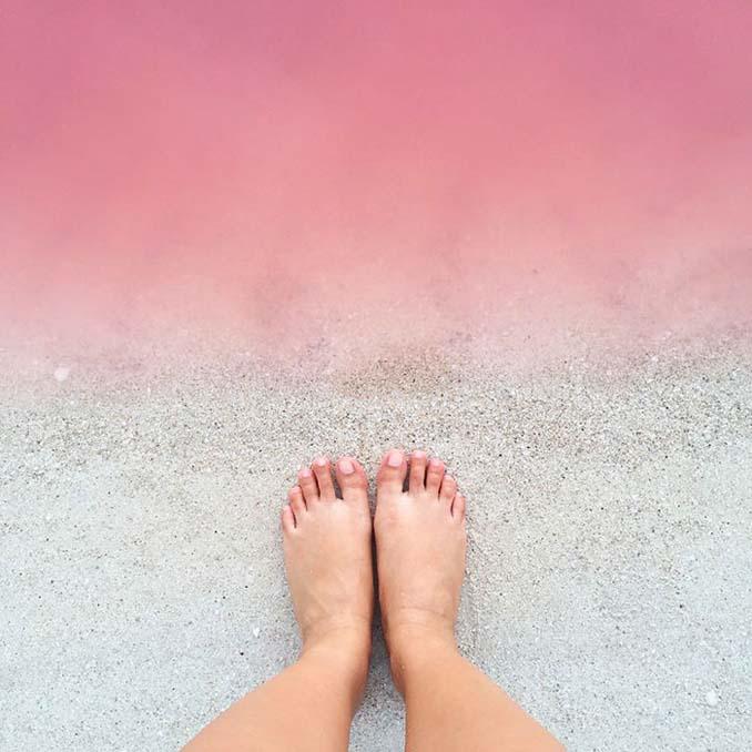 Η ροζ λιμνοθάλασσα του Μεξικού μοιάζει βγαλμένη από άλλο πλανήτη (11)