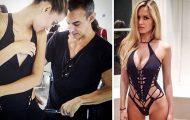 Σχεδιαστής μόδας δημιουργεί εκπληκτικά ρούχα χρησιμοποιώντας ένα ψαλίδι