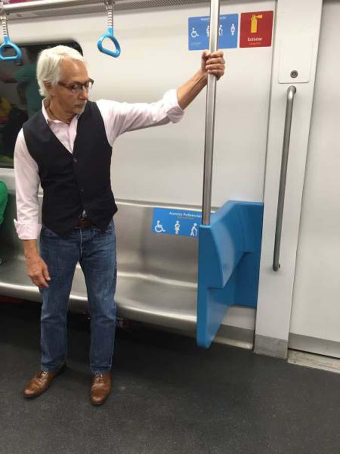Δείτε τι έκανε αυτός ο παππούς όταν του πρόσφεραν κάθισμα στο μετρό (2)