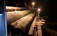 Τρομακτική καταιγίδα ρίχνει εκατοντάδες τόνους φορτίου ενός πλοίου στην θάλασσα