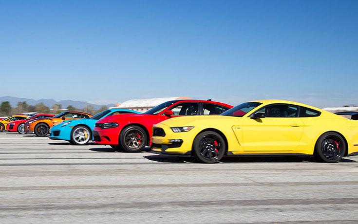 12 από τα κορυφαία αυτοκίνητα του 2016 σε έναν αγώνα
