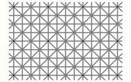 12 μαύρες κουκκίδες αλλά δεν μπορείτε να τις δείτε ταυτόχρονα