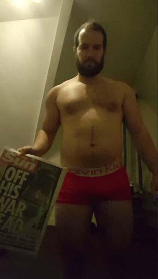 Απαλλάχθηκε από την μπυροκοιλιά και έγινε bodybuilder μέσα σε 16 εβδομάδες (1)