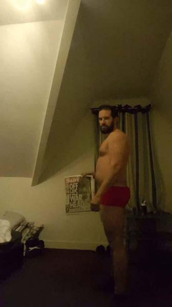 Απαλλάχθηκε από την μπυροκοιλιά και έγινε bodybuilder μέσα σε 16 εβδομάδες (2)