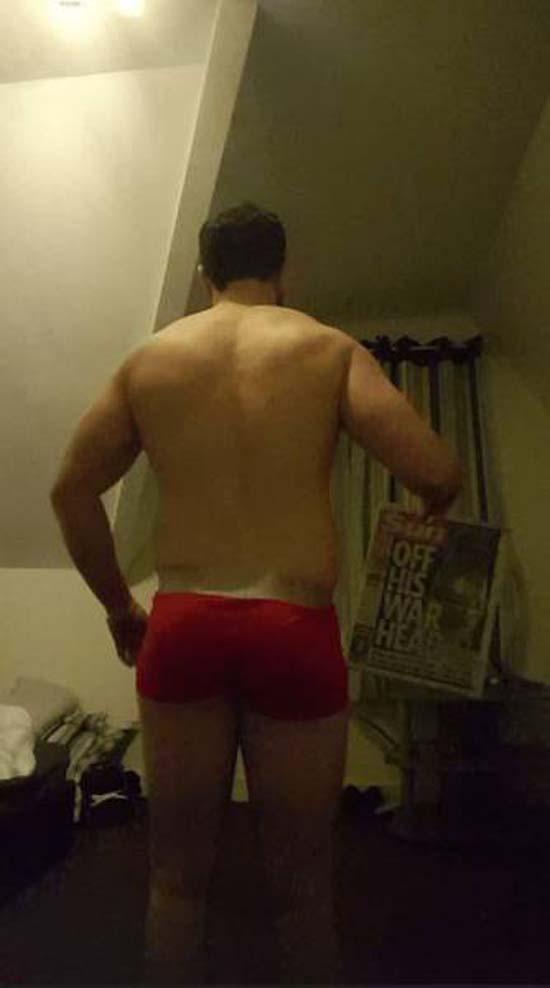 Απαλλάχθηκε από την μπυροκοιλιά και έγινε bodybuilder μέσα σε 16 εβδομάδες (3)