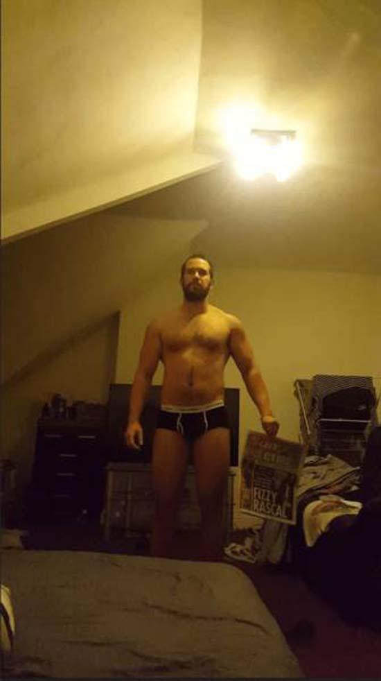 Απαλλάχθηκε από την μπυροκοιλιά και έγινε bodybuilder μέσα σε 16 εβδομάδες (4)