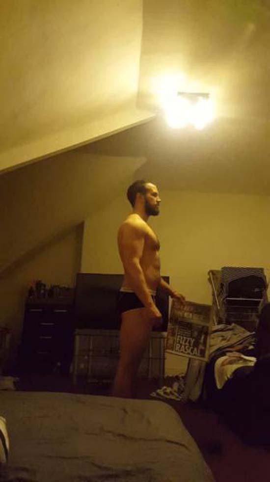 Απαλλάχθηκε από την μπυροκοιλιά και έγινε bodybuilder μέσα σε 16 εβδομάδες (5)