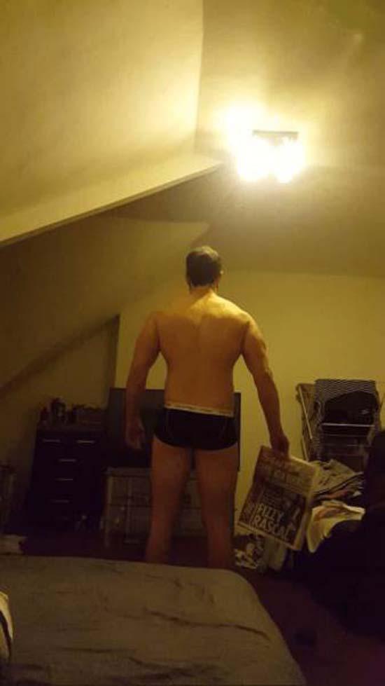 Απαλλάχθηκε από την μπυροκοιλιά και έγινε bodybuilder μέσα σε 16 εβδομάδες (6)