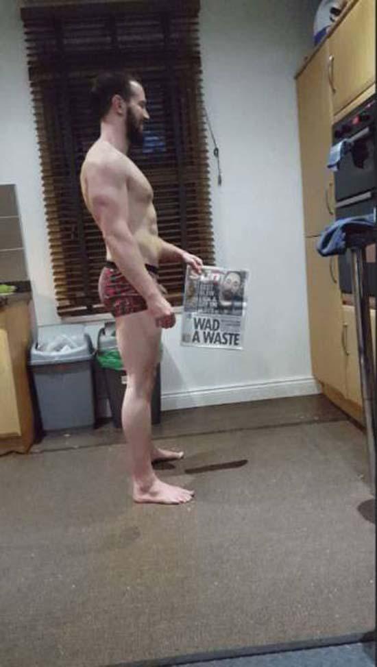 Απαλλάχθηκε από την μπυροκοιλιά και έγινε bodybuilder μέσα σε 16 εβδομάδες (8)