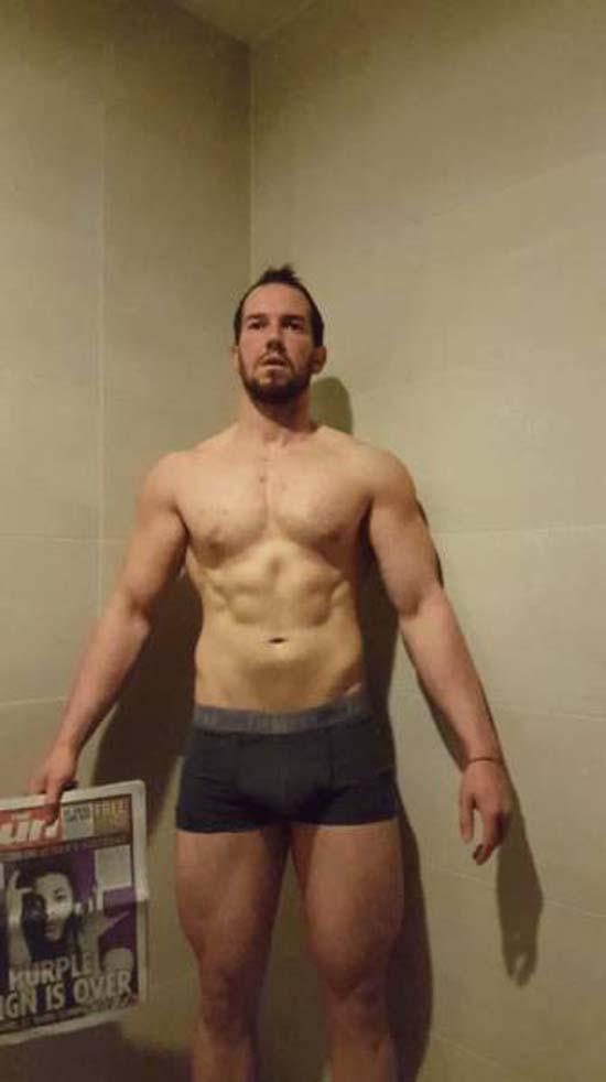 Απαλλάχθηκε από την μπυροκοιλιά και έγινε bodybuilder μέσα σε 16 εβδομάδες (10)