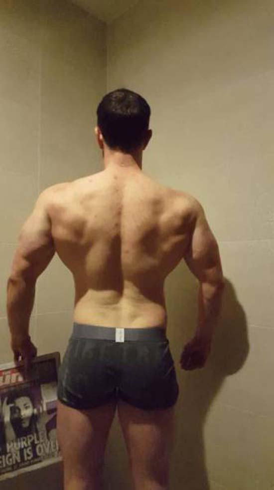 Απαλλάχθηκε από την μπυροκοιλιά και έγινε bodybuilder μέσα σε 16 εβδομάδες (11)