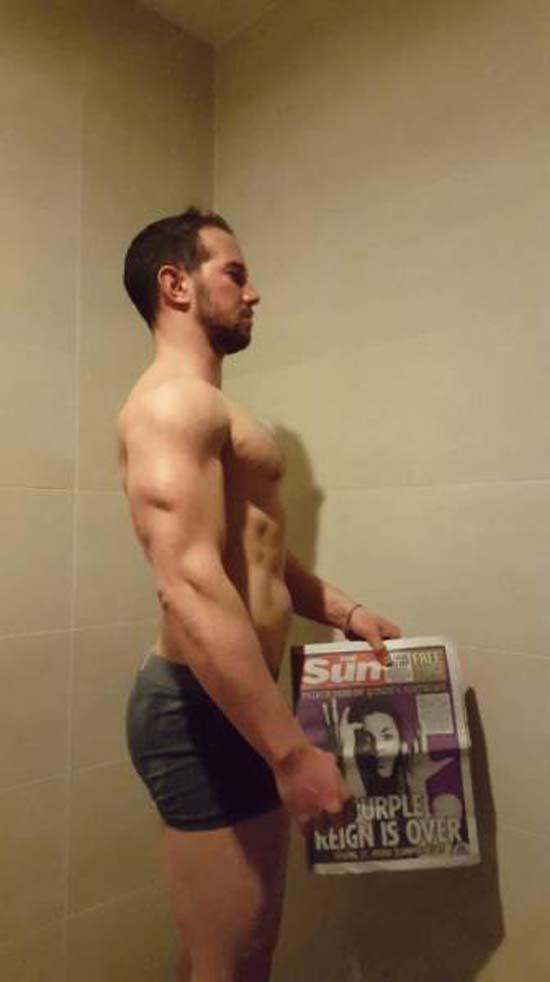 Απαλλάχθηκε από την μπυροκοιλιά και έγινε bodybuilder μέσα σε 16 εβδομάδες (12)