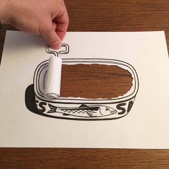 Απλά φύλλα χαρτιού μετατρέπονται σε διασκεδαστικές 3D σκηνές (10)