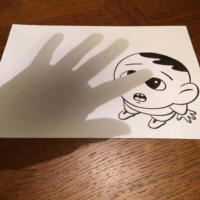 Απλά φύλλα χαρτιού μετατρέπονται σε διασκεδαστικές 3D σκηνές (20)