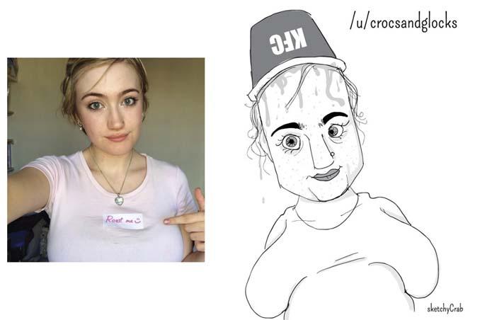 Καρτουνίστας δημιουργεί καρικατούρες ανθρώπων που τον προκαλούν (1)