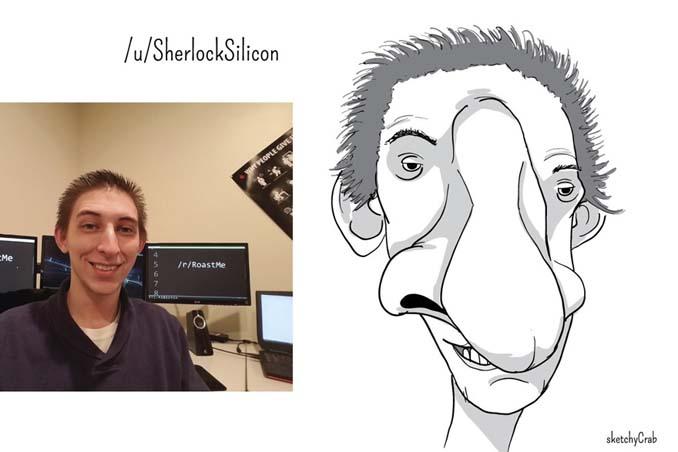 Καρτουνίστας δημιουργεί καρικατούρες ανθρώπων που τον προκαλούν (16)