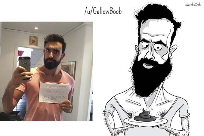 Καρτουνίστας δημιουργεί καρικατούρες ανθρώπων που τον προκαλούν (17)