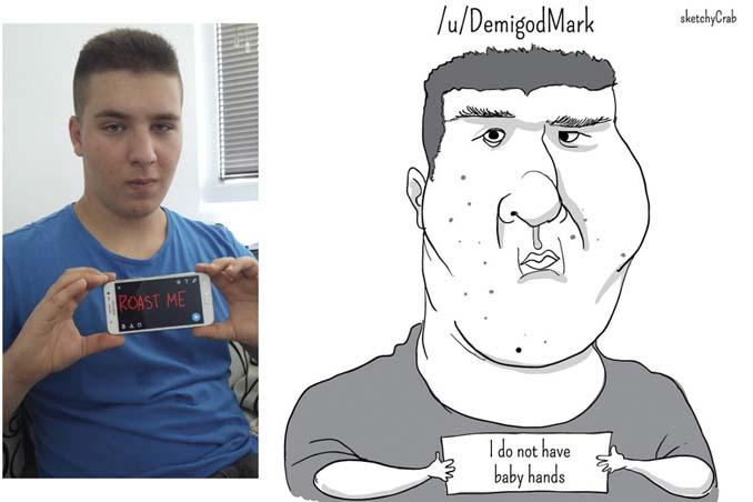 Καρτουνίστας δημιουργεί καρικατούρες ανθρώπων που τον προκαλούν (18)