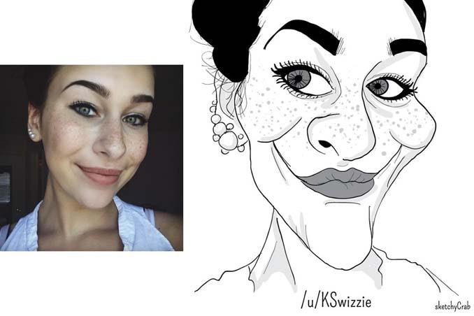 Καρτουνίστας δημιουργεί καρικατούρες ανθρώπων που τον προκαλούν (20)